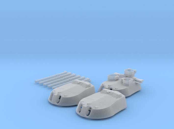 1/350 MKI* HMS Renown Guns 1942 3d printed 1/350 MKI* HMS Renown Guns 1942