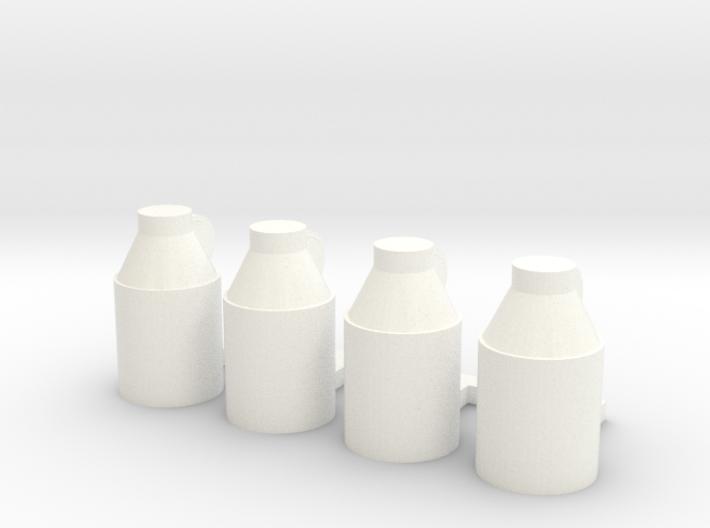 Milk Jugs (S) 3d printed