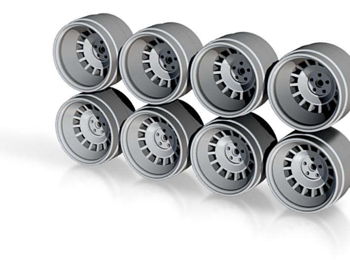 Countach LP400 Hot Wheels Rims 3d printed
