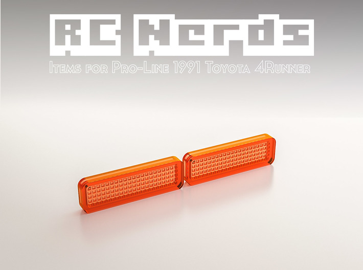 RCN057 Bumper light lenses for Toyota 4Runner PL 3d printed