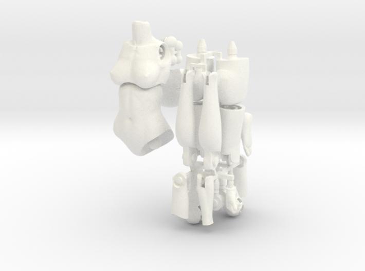 FB01-Body-01  7inch 3d printed
