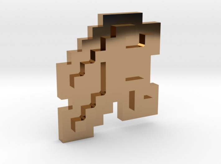 Jumpman pendant 3d printed