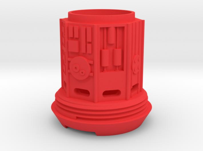 KRCNC2 Lightsaber cap 3d printed