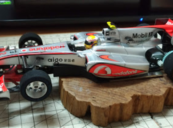 Mini-Z F1 adapter for Scaleauto Klasse 1 chassis 3d printed
