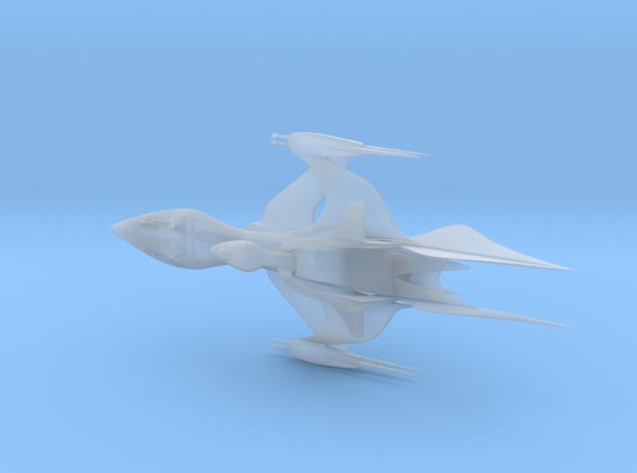 White Star Ship 3d printed