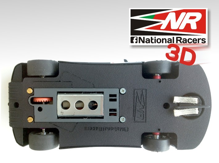 3D Chassis - Ninco Ferrari 360 Modena GTC (Combo) 3d printed