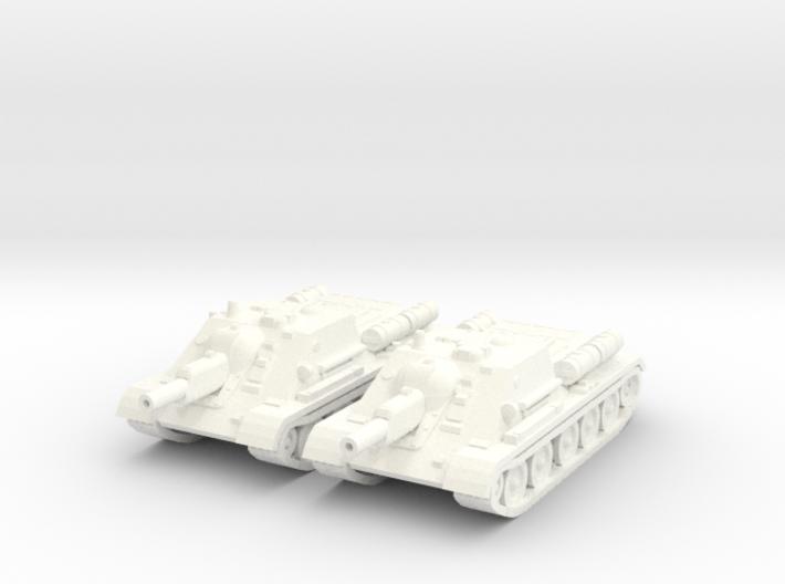 1/100 SU-122 SPG (2) 3d printed