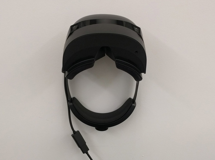 HP Mixed Reality Headset Wall Mount 3d printed