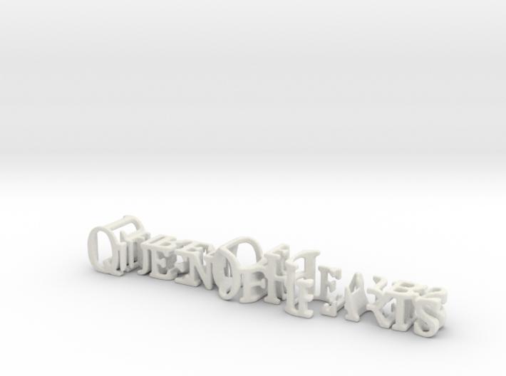 3dWordFlip: QueenOfHearts/ThreeOfClubs 3d printed