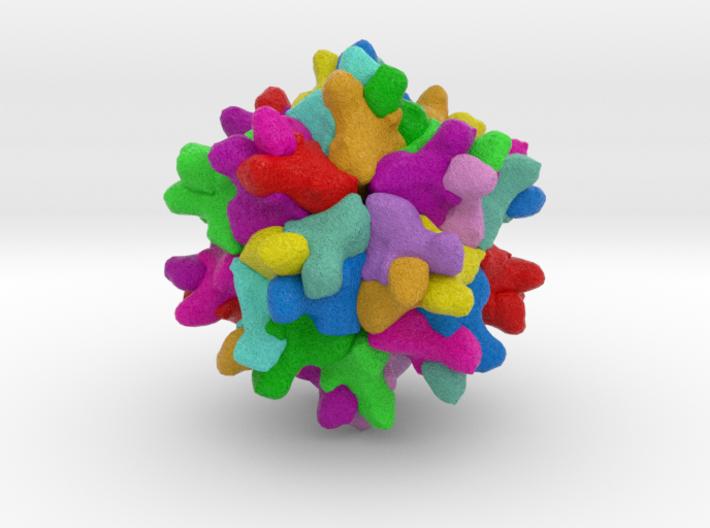 Bursal Disease Viral Protein 2 3d printed