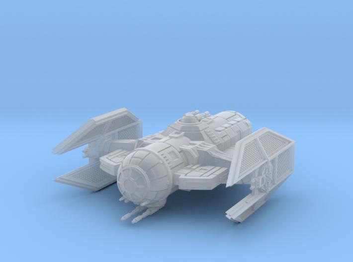 1/270 TIE Warden Gunboat 3d printed