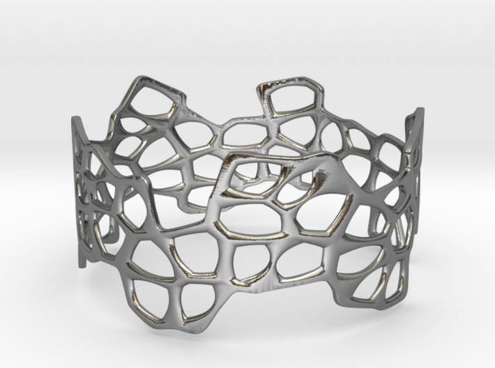 Cells Bracelet (67mm) 3d printed