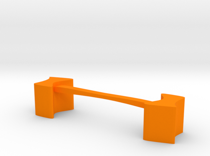 Knife rest & Cutlery rest  Abstract square shape 3d printed
