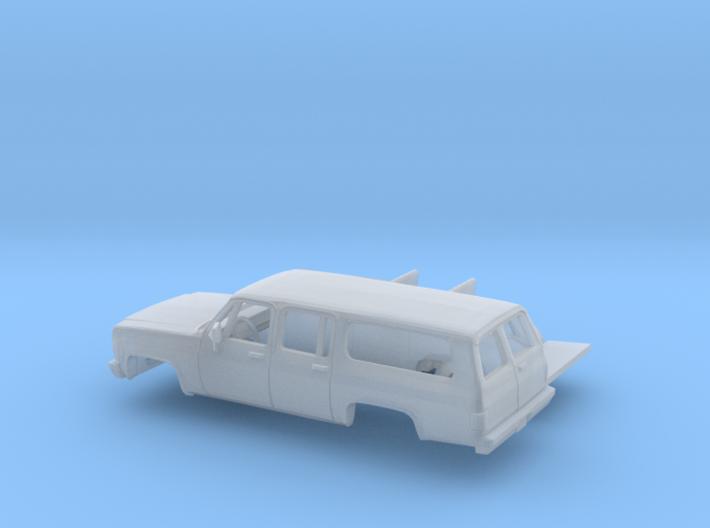 1/160 1973-79 Chevrolet Suburban Split Rear Door K 3d printed