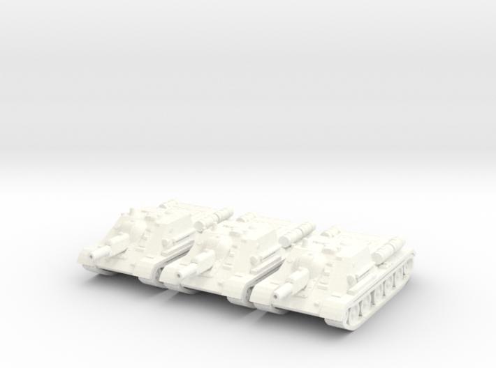 1/144 SU-122 SPG (3) 3d printed
