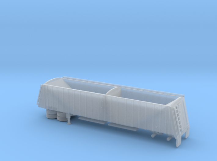 1/120 42' Semi Grain Trailer Kit 3d printed