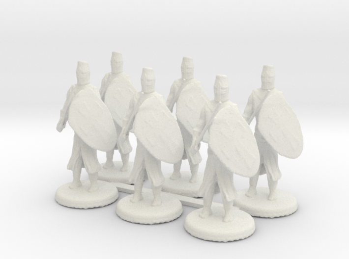 Templar Knights 3d printed This is a render not a photo