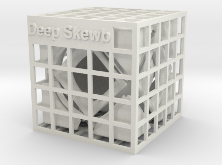 Deep Skewb 3d printed
