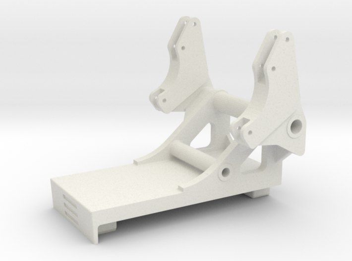Euro Trac Frontlader Konsole Stoll Frontlader 3d printed