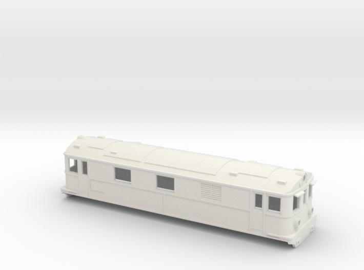 Swedish SJ electric locomotive type Pb - H0-scale 3d printed