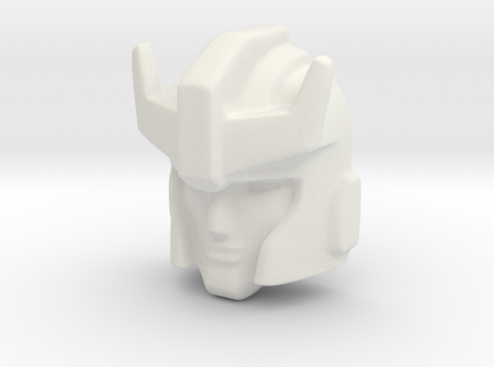 Prowl face (Titans Return) 3d printed