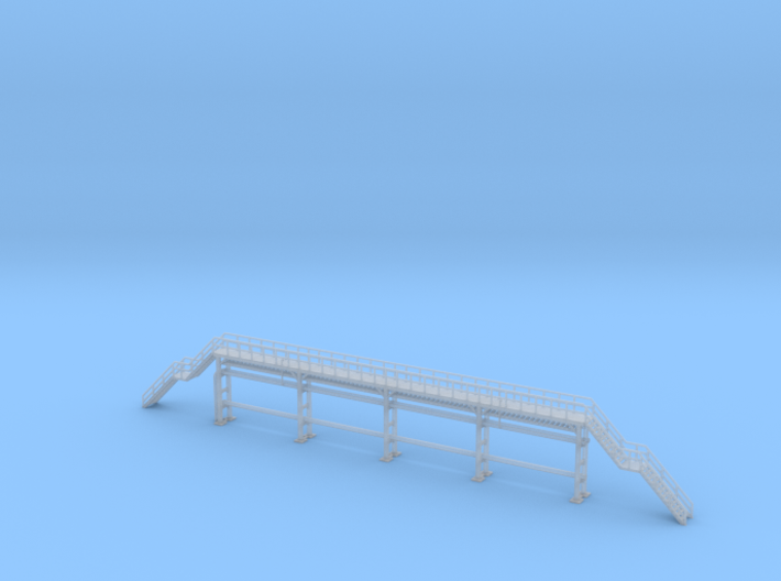 N Scale Tank Car loading Platform 2x2 Type 2 3d printed