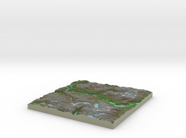 Terrafab generated model Sun Aug 20 2017 22:45:53 3d printed