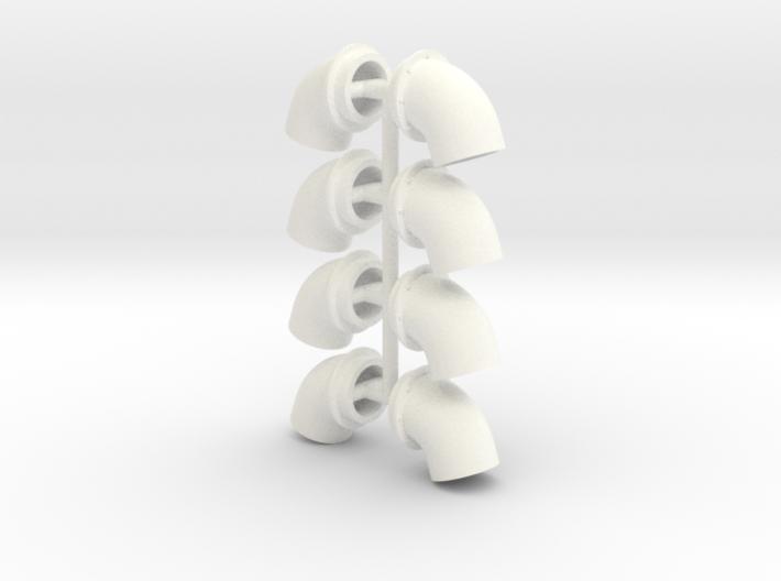 Bullhorns 1/12 6 inch 4 pr 3d printed