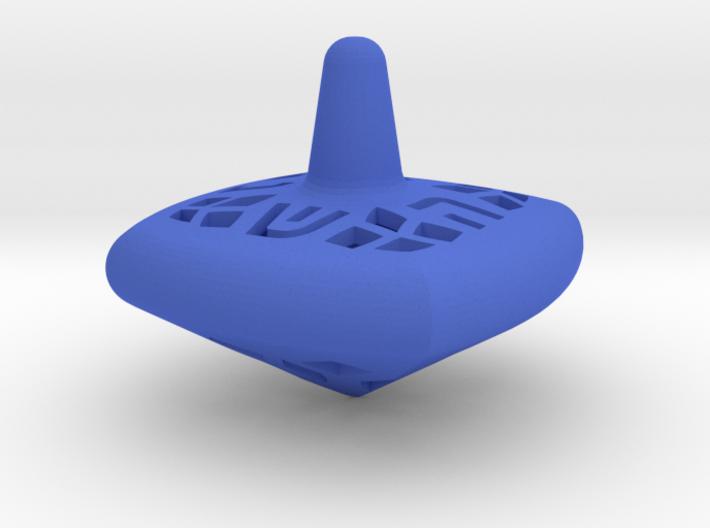 Hanukkah Dreidel - Square - Spinning Top - Medium 3d printed