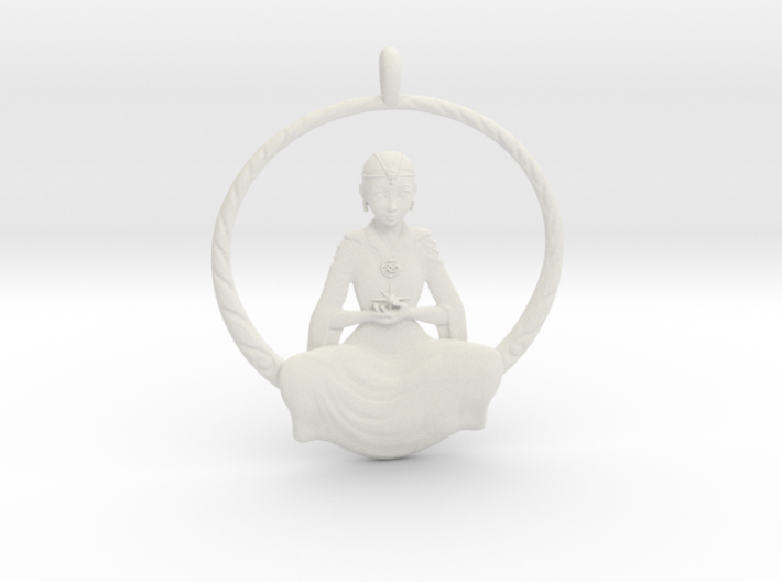 The Childlike Empress Pendant 5cm 3d printed