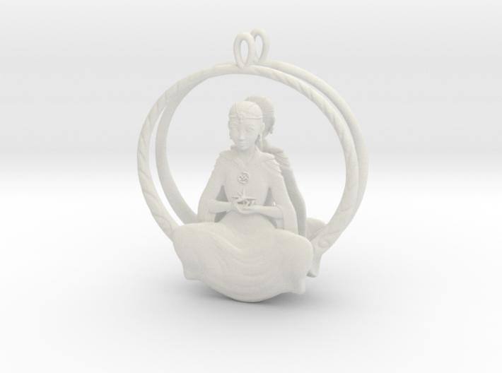 The Childlike Empress Earrings  3d printed