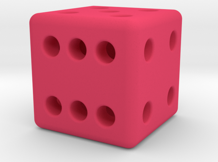 12mm designer dice  3d printed