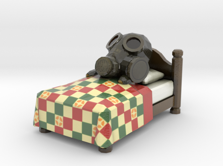 Team Fortress 2 - Sleeping Pyro 3d printed
