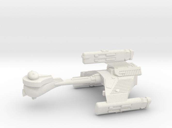 3125 Scale Klingon F6K Refitted Battle Frigate WEM 3d printed