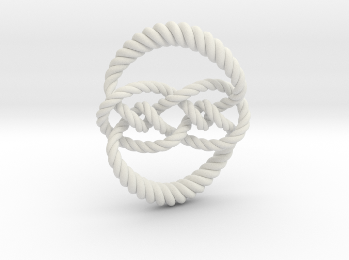 Knot 10₁₂₀ (Rope) 3d printed