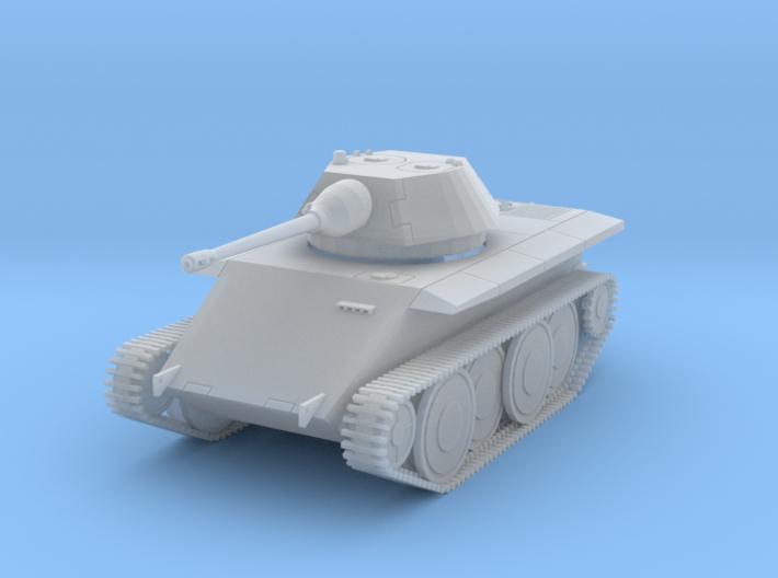 DW18D Leopard Light Tank E-10 (1/144) 3d printed