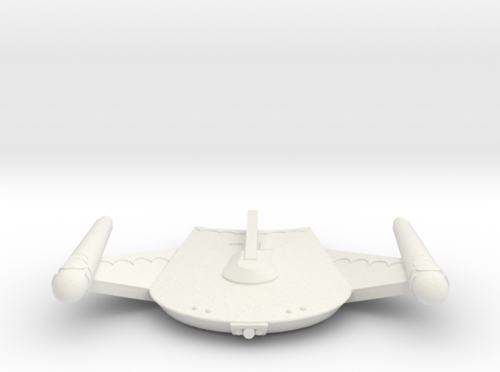 3788 Scale Romulan War Eagle MGL 3d printed