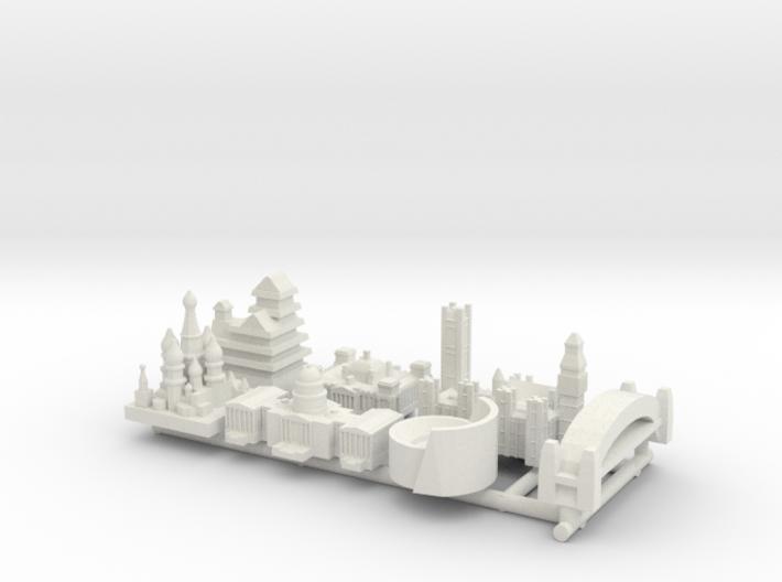 Capital Set (WSF) 3d printed