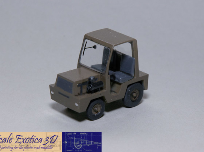 1/72 ATA Tractor 3d printed Painted and detailed model