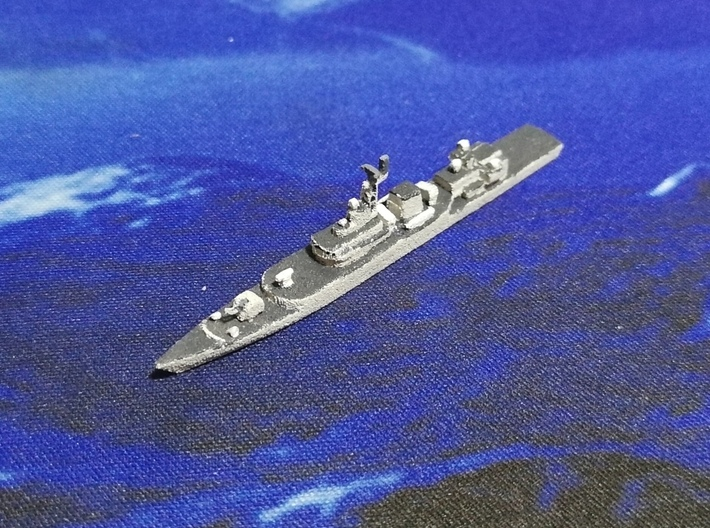 053H3 Frigate, (2017 Modernization), 1/1800 3d printed Painted Sample