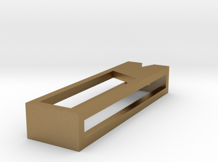 Minimal ease.d Pendant 1/4 3d printed