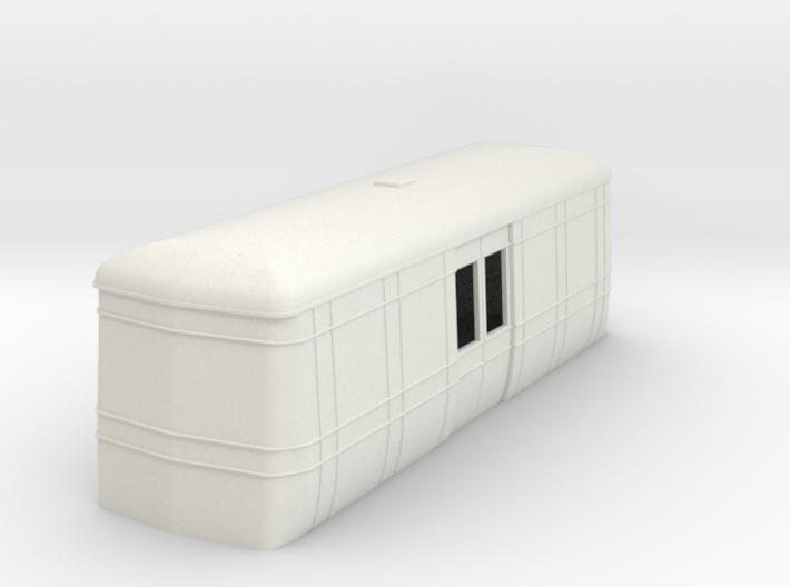 On16.5 Freelance AW luggage trailer body 3d printed