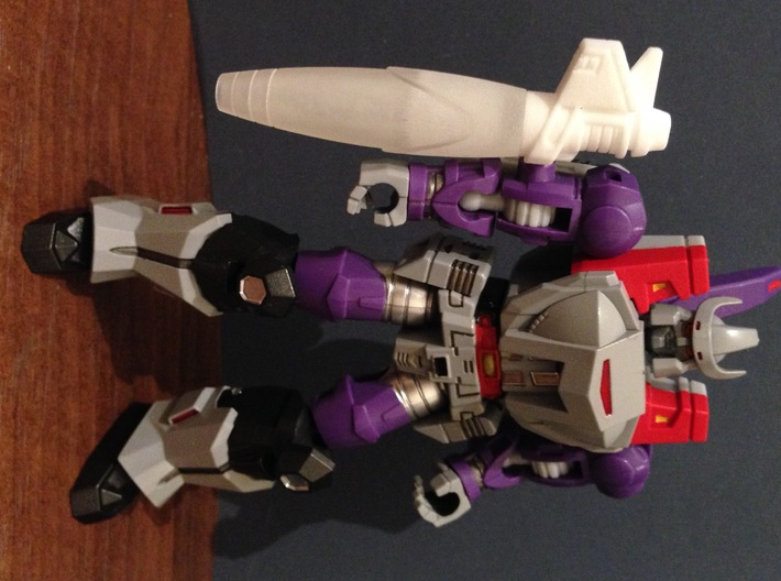 Galvatron Cannon Pt 2 3d printed
