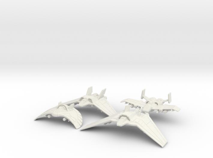 Tau'ri Attack Squadron: 1/270 scale 3d printed