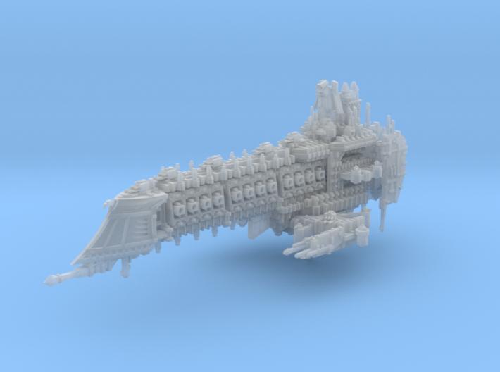 Retributor Battleship 3d printed