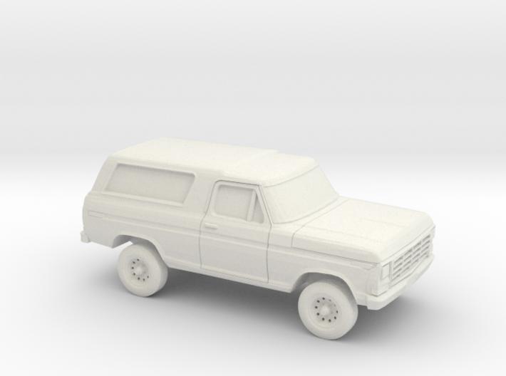 1/87 1978-79 Ford Bronco 3d printed