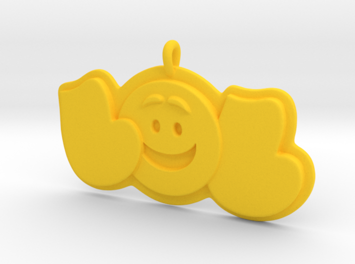 43- LOL-SMILEY FACE 3d printed