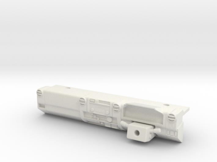 LC70 - RHD Dash 3d printed