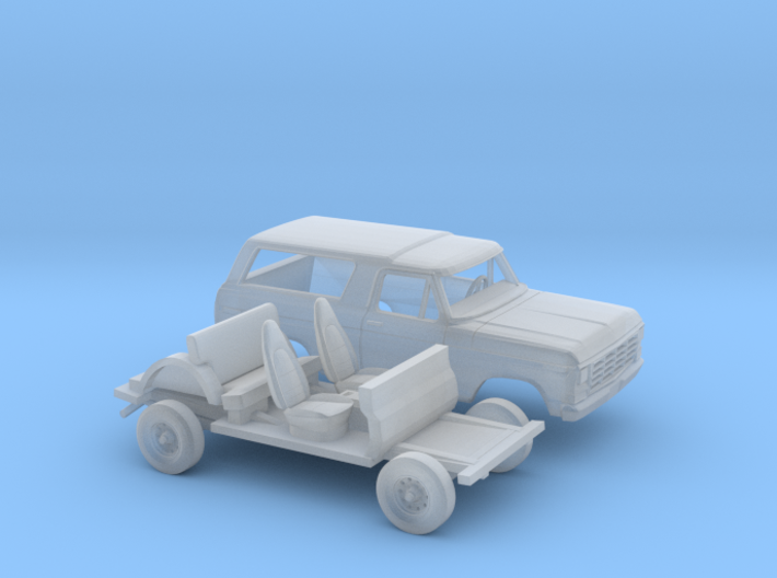 1/87 1978-79 Ford Bronco Kit 3d printed
