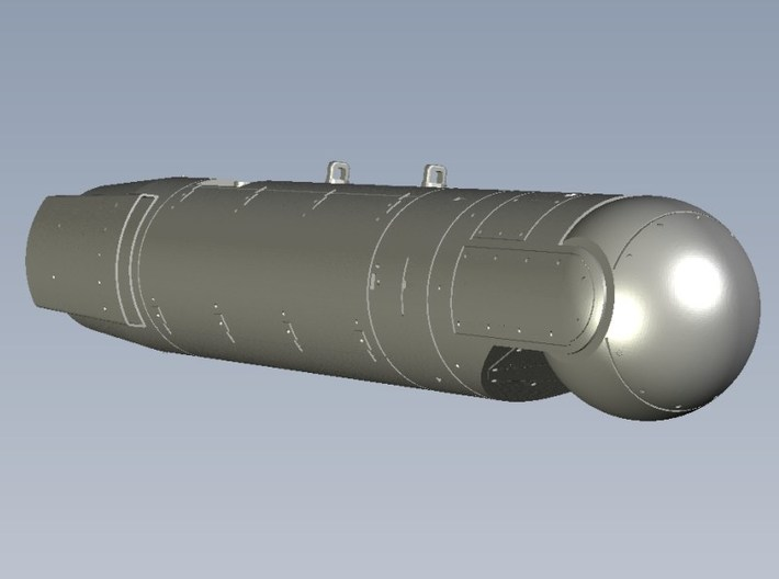 1/100 scale AN/AAQ-28 LITENING targeting pods x 2 3d printed